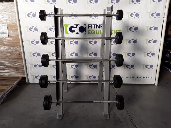 Integrity Strength Barbell A-Frame + barbells