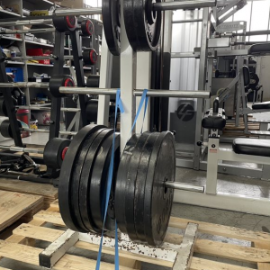 Assorted Olympic Bars Weight Plates